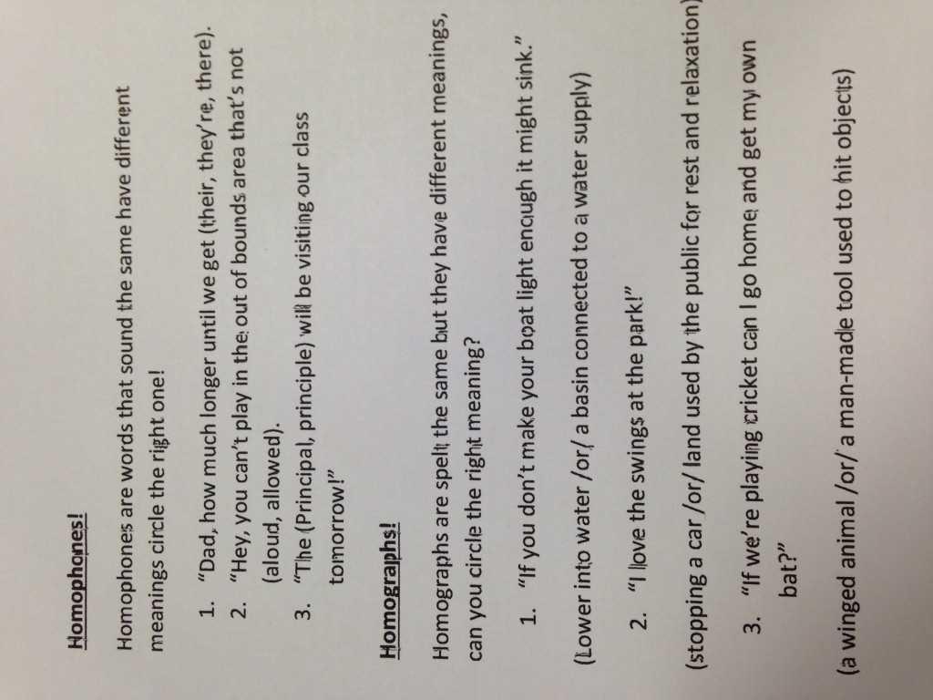 6th Grade social Studies Worksheets with Answer Key or Grade Homophones and Homographs Worksheet Activity Homophone
