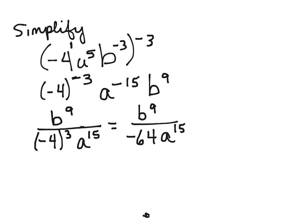 Algebra 1 Inequalities Worksheet with solving Algebraic Expressions with Negative Exponents Homesh