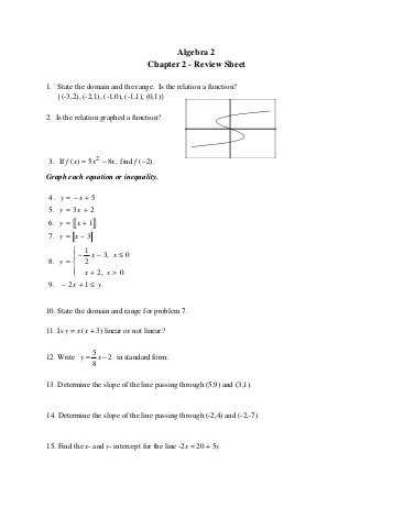 Algebra 2 Chapter 7 Review Worksheet Answers and Algebra 2 Chapter 8 Review Answers Wilsonsd