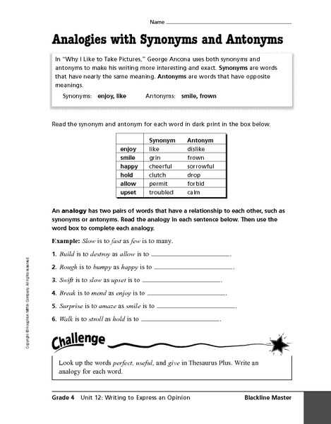 Analogy Worksheets for Middle School and Analogies Worksheets Middle School the Best Worksheets Image