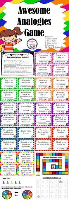 Analogy Worksheets for Middle School together with Analogies Fill In An Analogy with the Given Words so Many Fun