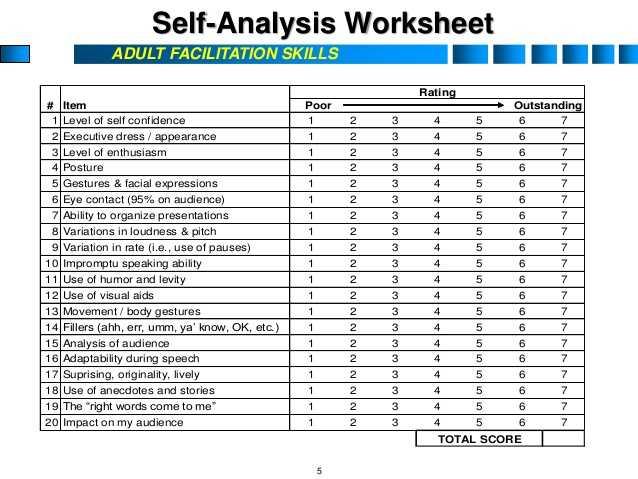 Basic Life Skills Worksheets or Adult Facilitation Skills 5 638 Cb=