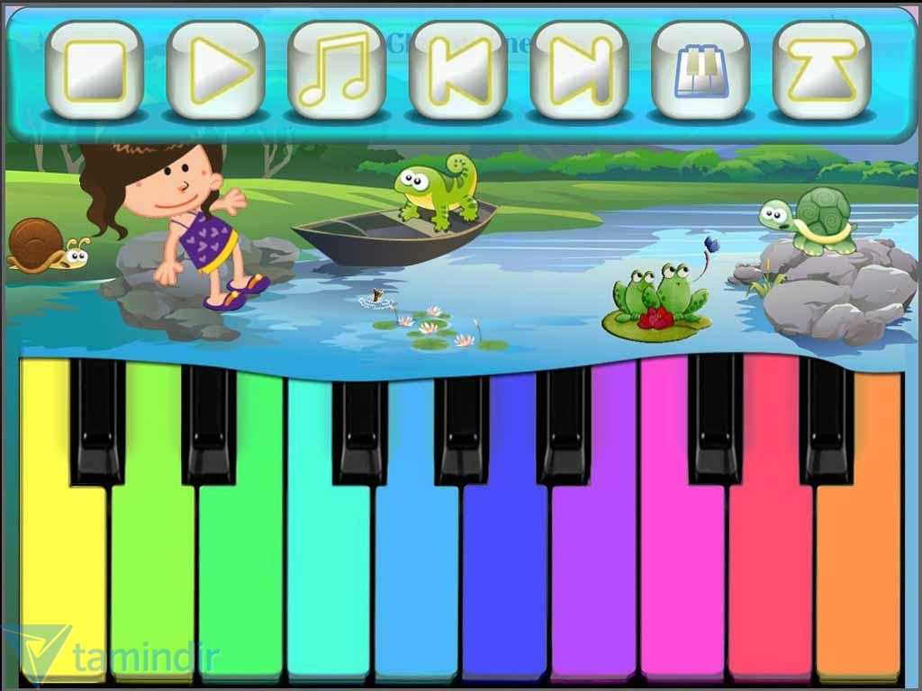 Beginner Piano Worksheets or Kids Piano Games Free Ndir android Iin Ocuklara Zel Pi