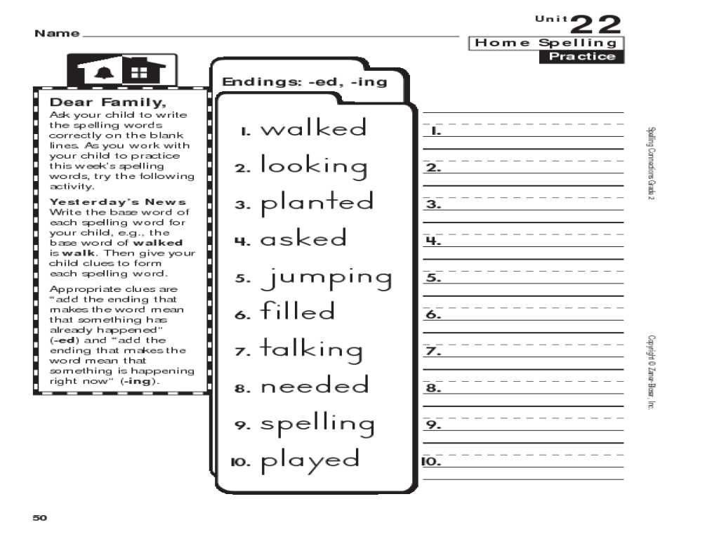 Beginning English Worksheets for Spanish Speakers with Worksheet Ed Ing Worksheets Grass Fedjp Worksheet Study Si