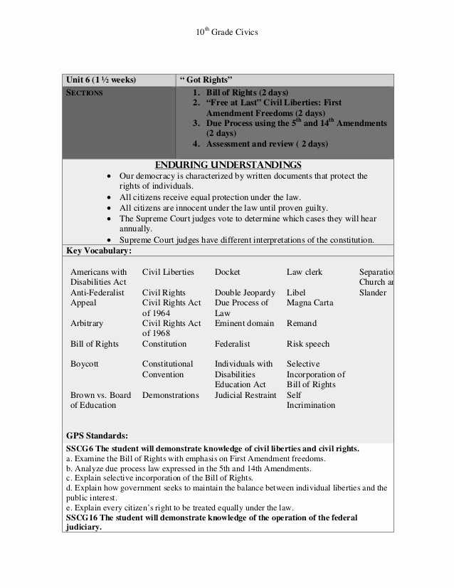 Bill Of Rights Scenario Worksheet Answers together with 45 Awesome Image Amending the Constitution Worksheet