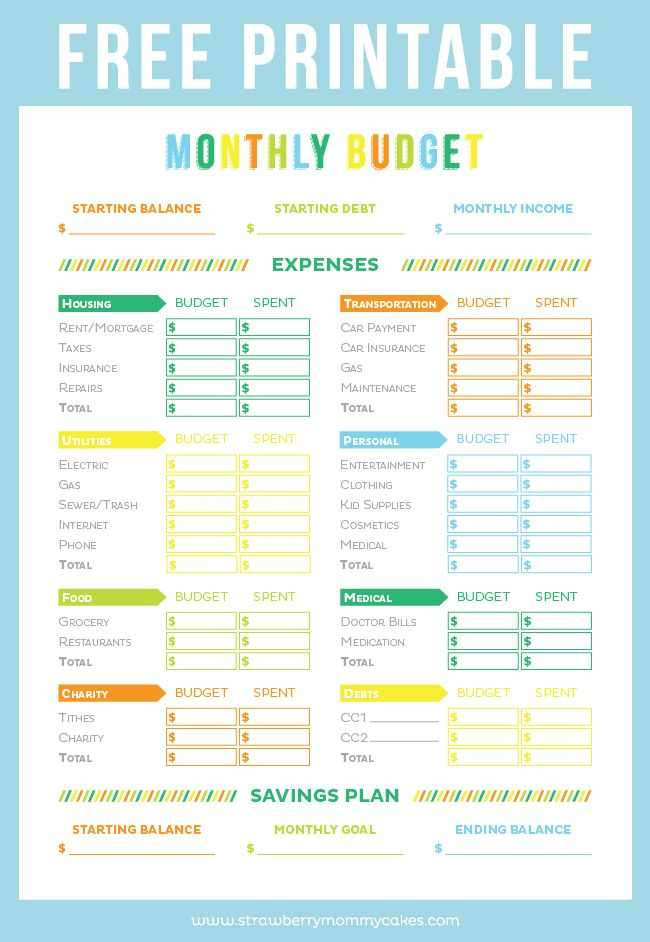Budget Worksheet for Kids Along with Free Printable Bud Sheet