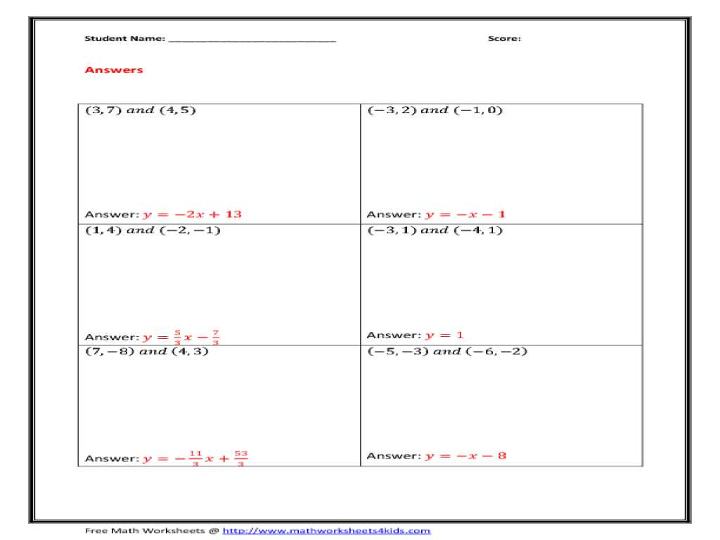 Chapter 5 Section 1 Understanding Supply Worksheet Answers Also Slope A Line Worksheets 23 Worksheet