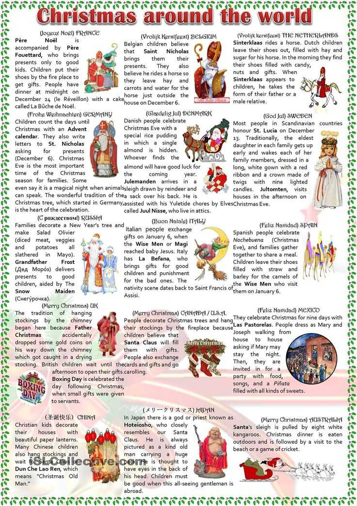 Christmas Around the World Worksheets and 13 Best Christmas Images On Pinterest