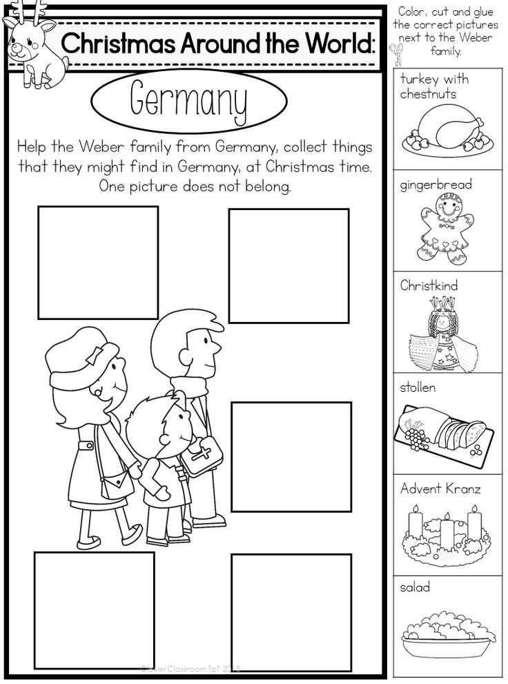 Christmas Around the World Worksheets and 344 Best Christmas Around the World Images On Pinterest