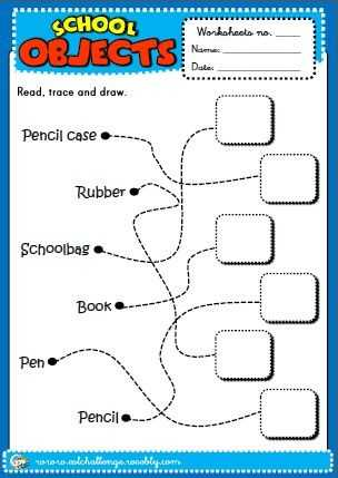 Classroom Objects In Spanish Worksheet Free together with 11 Best School Objects Images On Pinterest