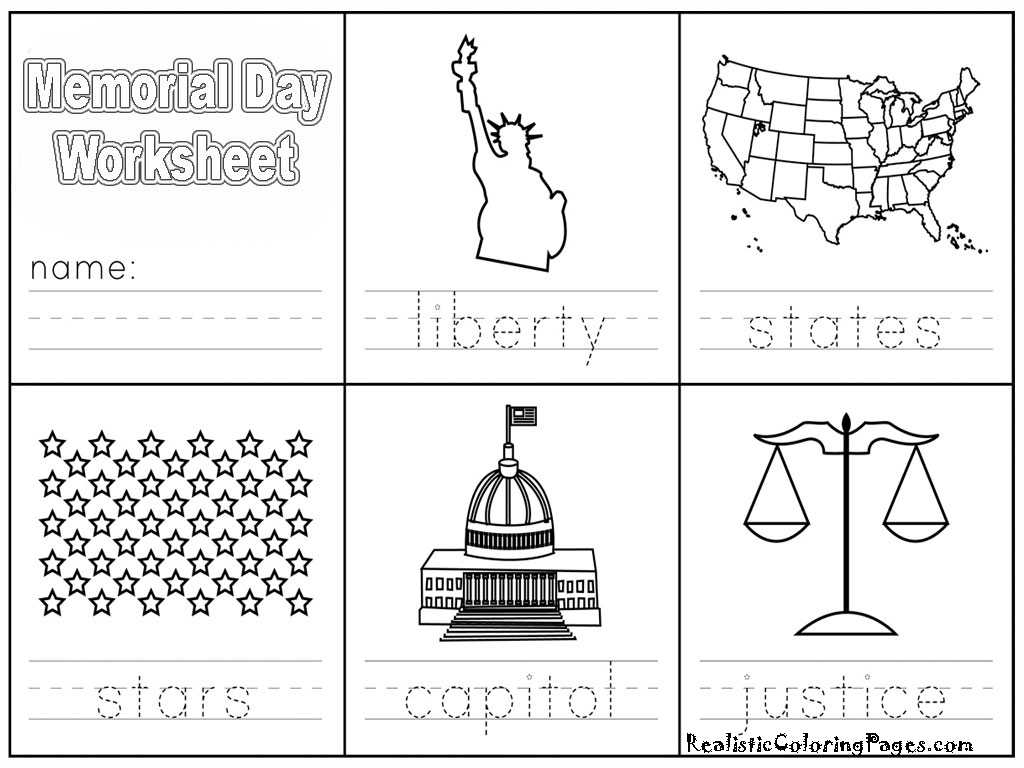 Clothing In Spanish Worksheets Also Memorial Day Coloring Paper Wallskid