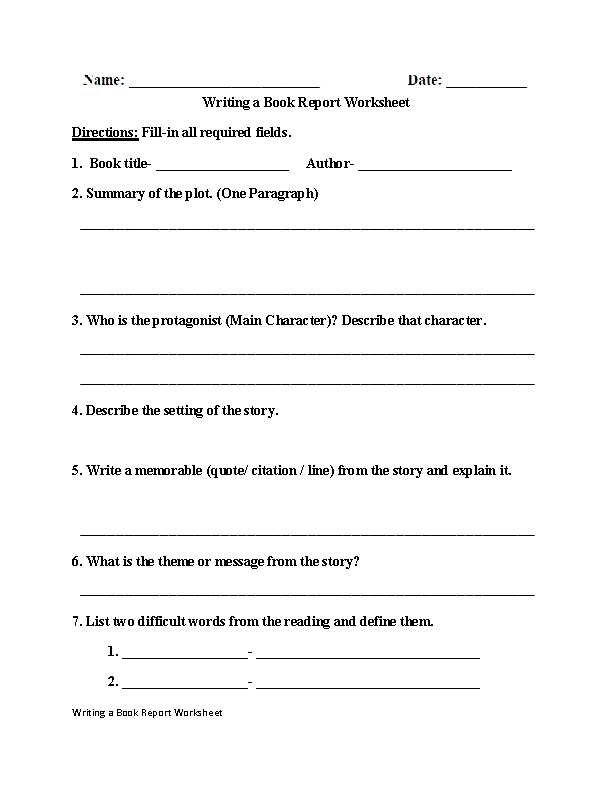 Creative Writing Worksheets Also 5th Grade Writing Worksheets Pdf aslitherair