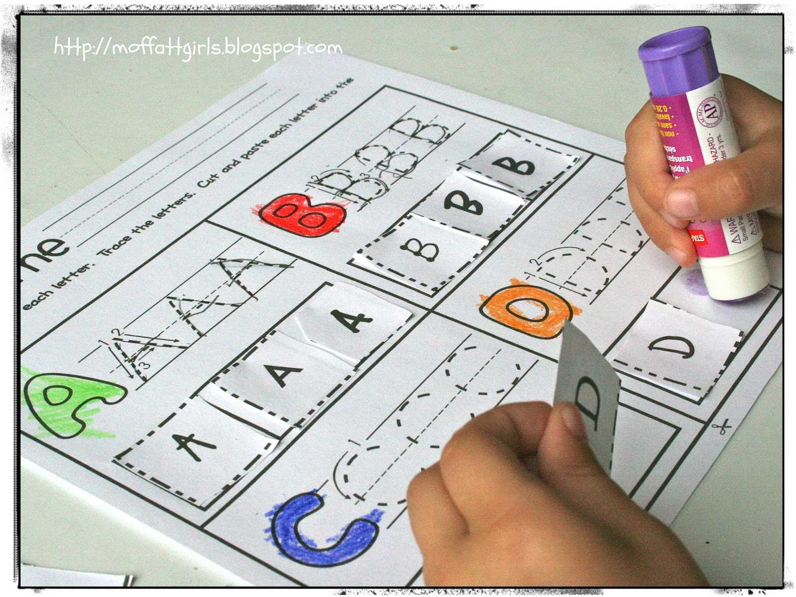 Cut and Paste Worksheets for Kindergarten or Printable Cut and Paste Worksheets for Kindergarten Choice Image