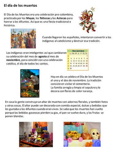 Dia De Los Muertos Worksheet Answers as Well as Day Of the Dead In Mexico Dia De Los Muertos by Sashavis