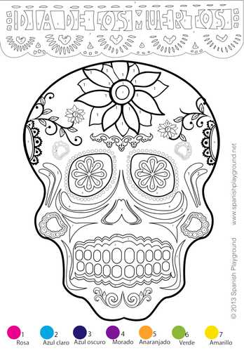 Dia De Los Muertos Worksheet Answers together with Day Of the Dead In Mexico Dia De Los Muertos by Sashavis