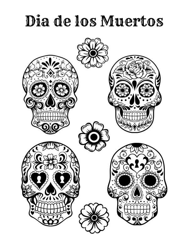 Dia De Los Muertos Worksheet together with 76 Best Dia De Los Muertos Images On Pinterest