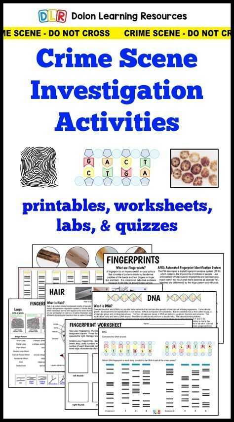 Dna Profiling Worksheet with 666 Best Teaching forensics Images On Pinterest