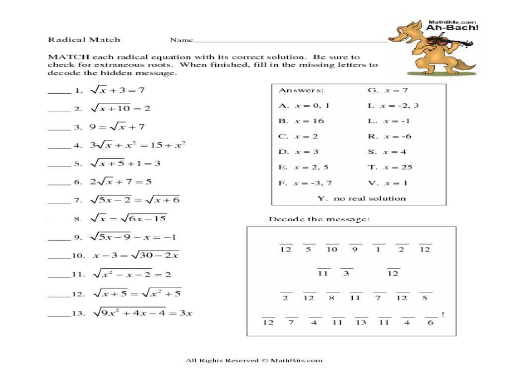 Exponents and Radicals Worksheet with Answers or 38 New Stock Simplifying Radicals Worksheet 1 Worksheet A