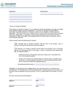 Fha Streamline Net Tangible Benefit Worksheet and forms