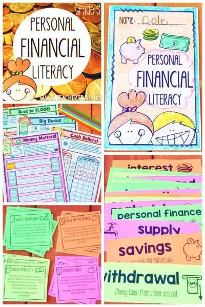 Financial Literacy Worksheets Along with 37 Best Personal Finance Class Images On Pinterest
