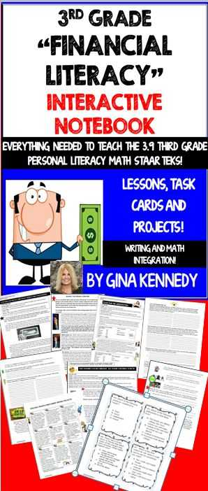 Financial Literacy Worksheets and 148 Best Kids and Money Images On Pinterest