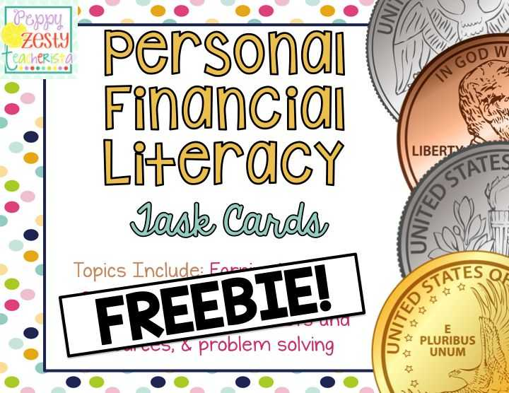 Financial Literacy Worksheets as Well as 37 Best Personal Finance Class Images On Pinterest