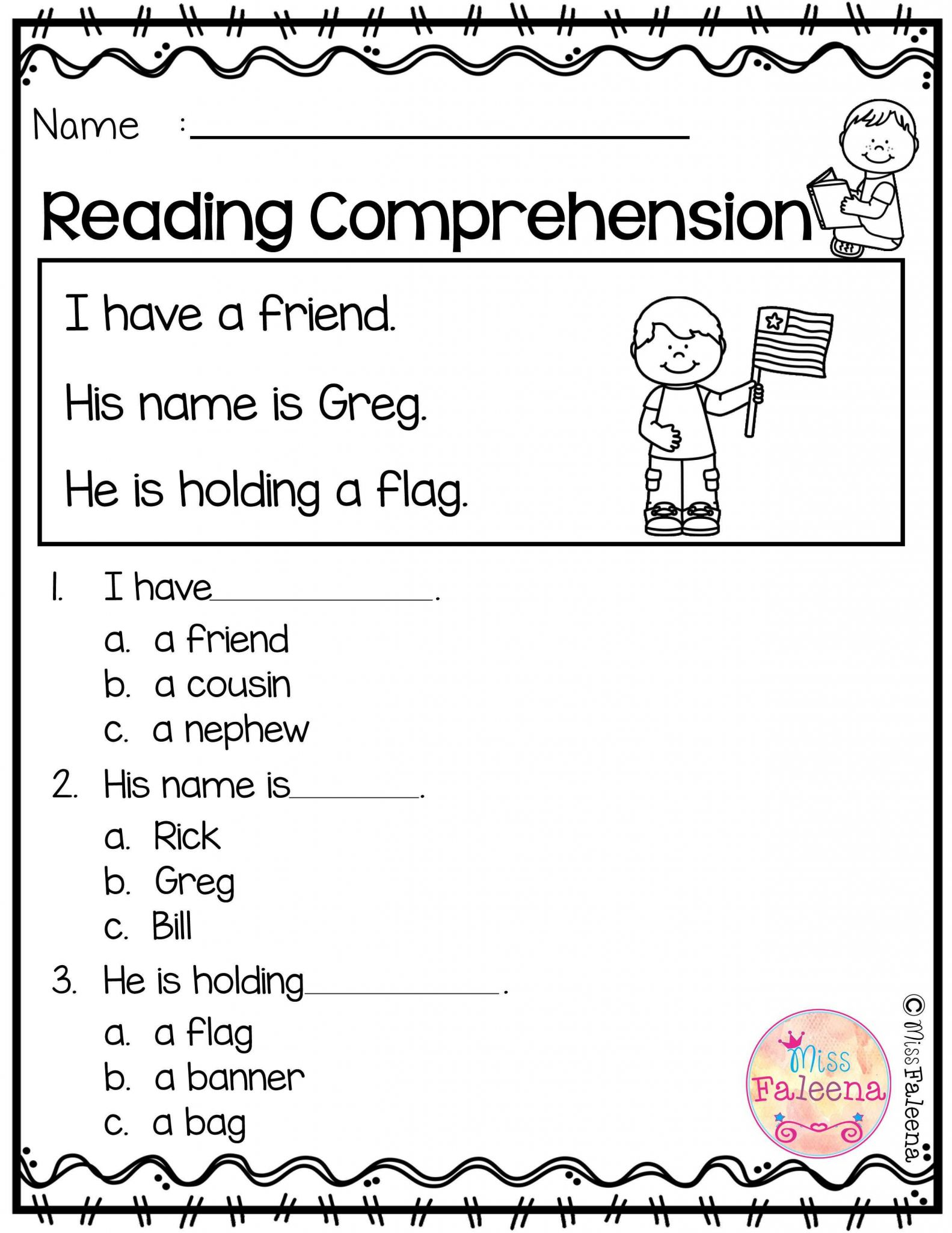 First Grade Esl Worksheets Along with Kids Beginning Reading Worksheets Reading Practice Worksheet for