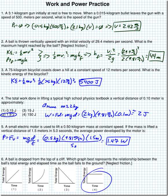 Force Practice Problems Worksheet Answers as Well as Kinetic Energy Problems Worksheet with Answers Kidz Activities