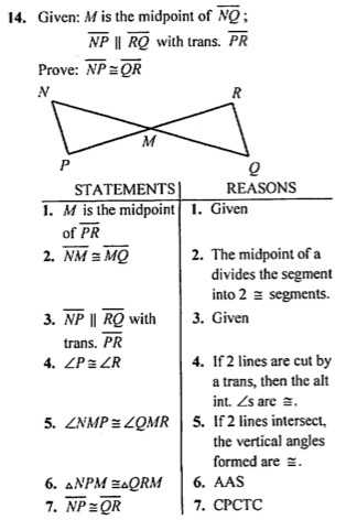 Geometry Cpctc Worksheet Answers Key as Well as Geometry Proofs Worksheets