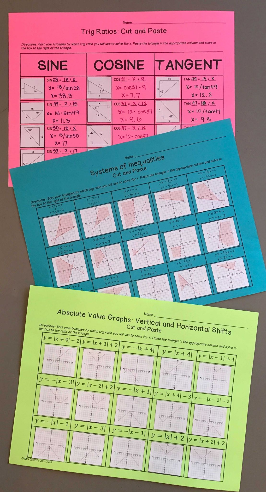 Geometry Parallelogram Worksheet Answers And Important