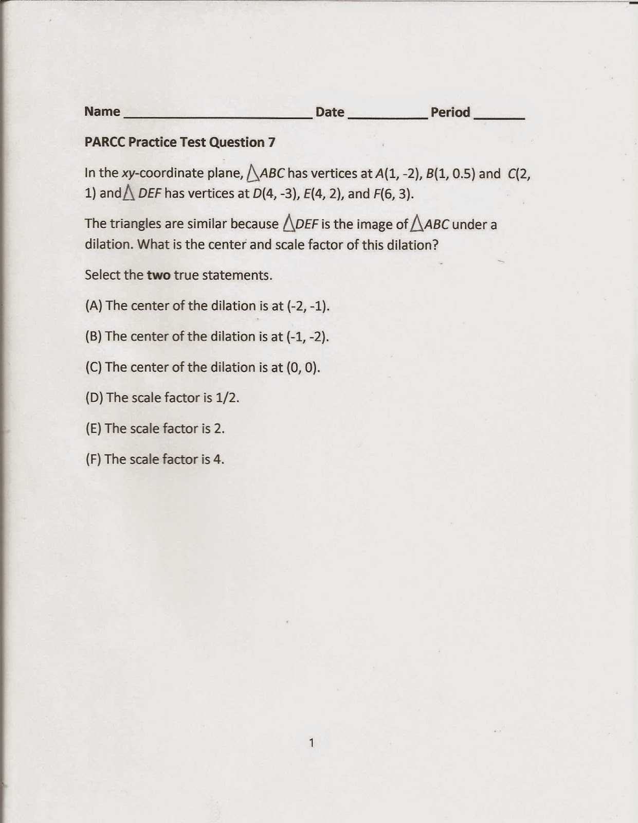 Geometry Worksheet Congruent Triangles Sss and Sas Answers or Geometry Mon Core Style April 2015