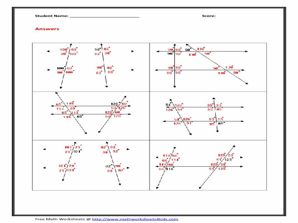Graphing Acceleration Worksheet and Angle Relationships Worksheets Worksheet Math for K