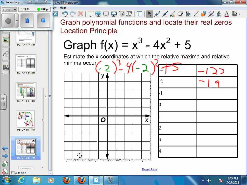 Graphing Inequalities In Two Variables Worksheet Along with 72 Graphing Polynomial Functions Example 3 Approximate