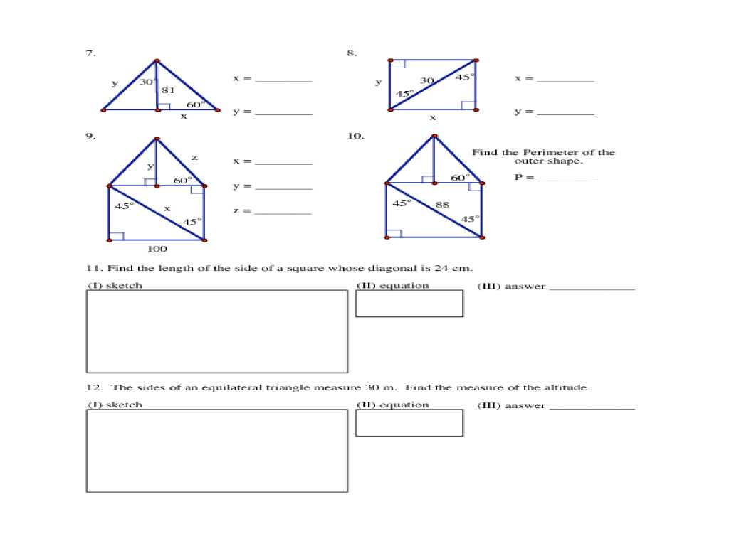 Interior Angles Of A Triangle Worksheet Pdf Along with isosceles and Equilateral Triangles Worksheet Answers Practi