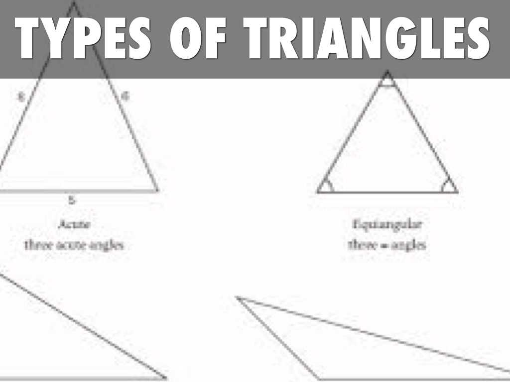 Interior Angles Of A Triangle Worksheet Pdf together with Types Triangles by Michael Day