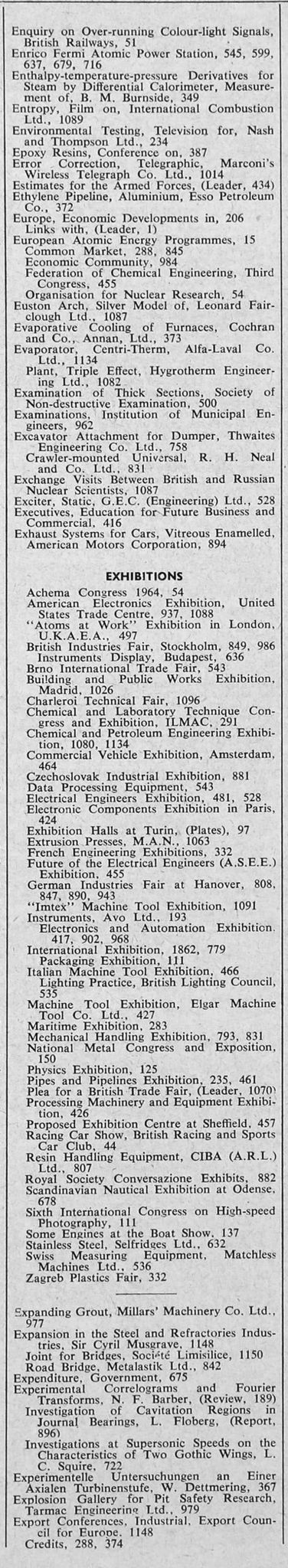Inventions Of the Industrial Revolution Worksheet as Well as the Engineer 1962 Jan Jun Index Sections 2 and 3