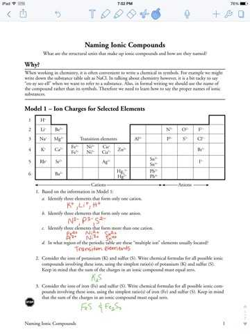 Ionic Compounds Worksheet with Inspirational Naming Ionic Pounds Worksheet Answers Unique 20