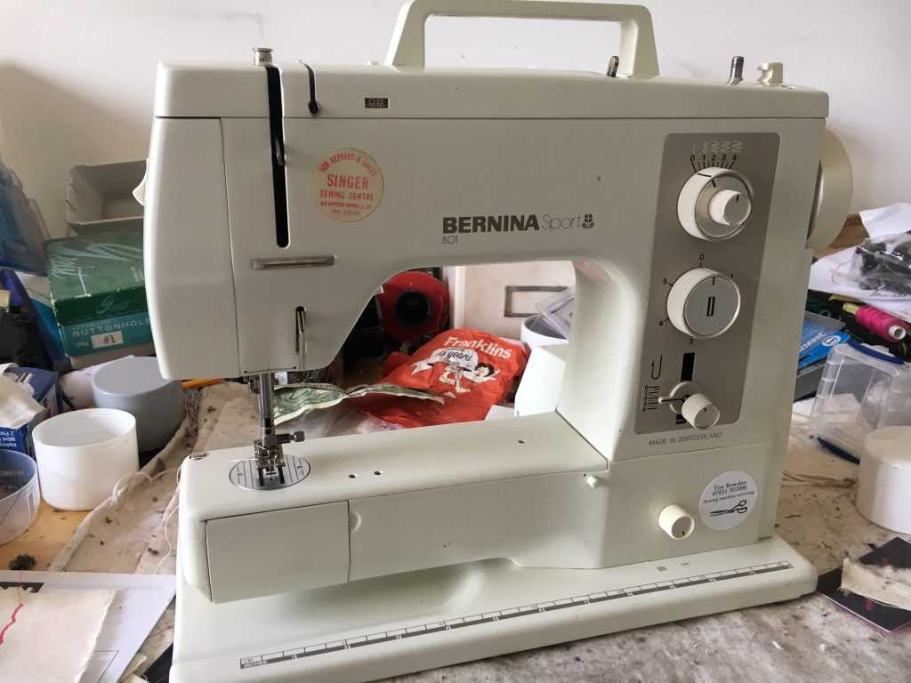 Know Your Sewing Machine Worksheet with Bernina Sport 801 Sewing Machine Service thesewingmachined