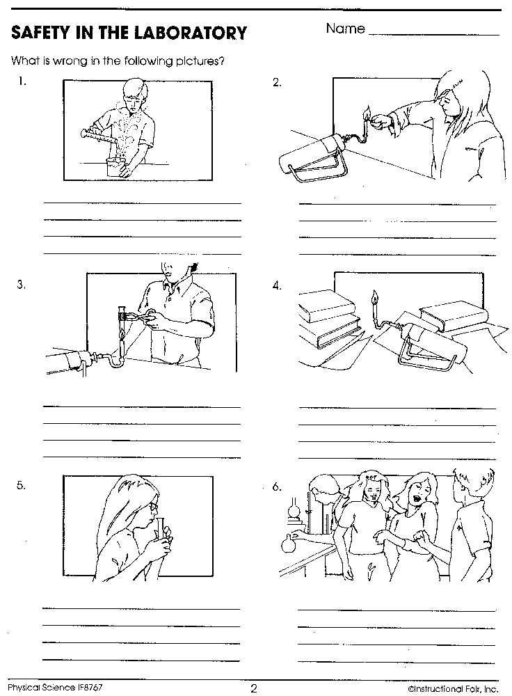 Lab Safety Worksheet Answers as Well as 132 Best Safety In the Science Lab Images On Pinterest