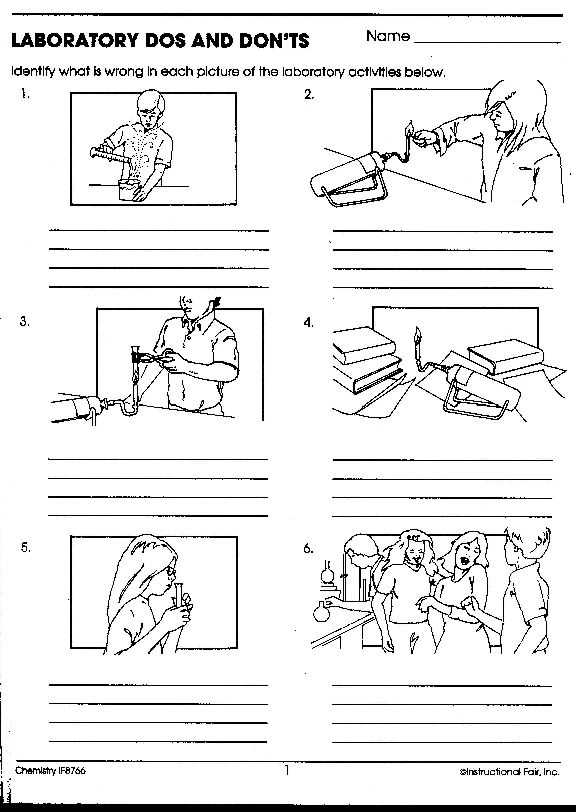Lab Safety Worksheet Answers with 132 Best Safety In the Science Lab Images On Pinterest