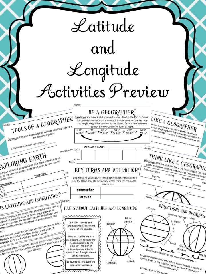 Latitude and Longitude Worksheets 7th Grade together with 407 Best Geography Images On Pinterest