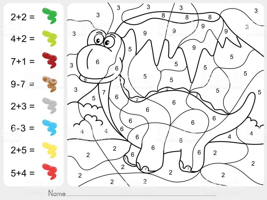 Learning Colors Worksheets as Well as Malen Malen Nach Zahlen Addition Und Subtraktion Arbeitsblat