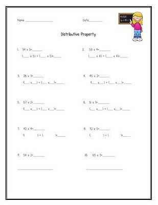 Math Properties Worksheet Pdf and 67 Best order Operations Images On Pinterest