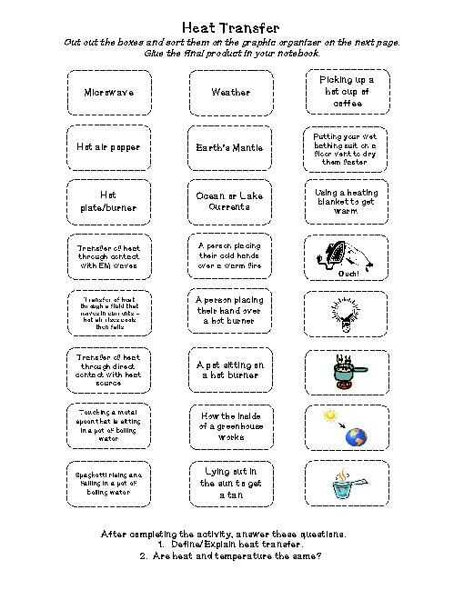 Methods Of Heat Transfer Worksheet Answers as Well as 101 Best Heat Images On Pinterest