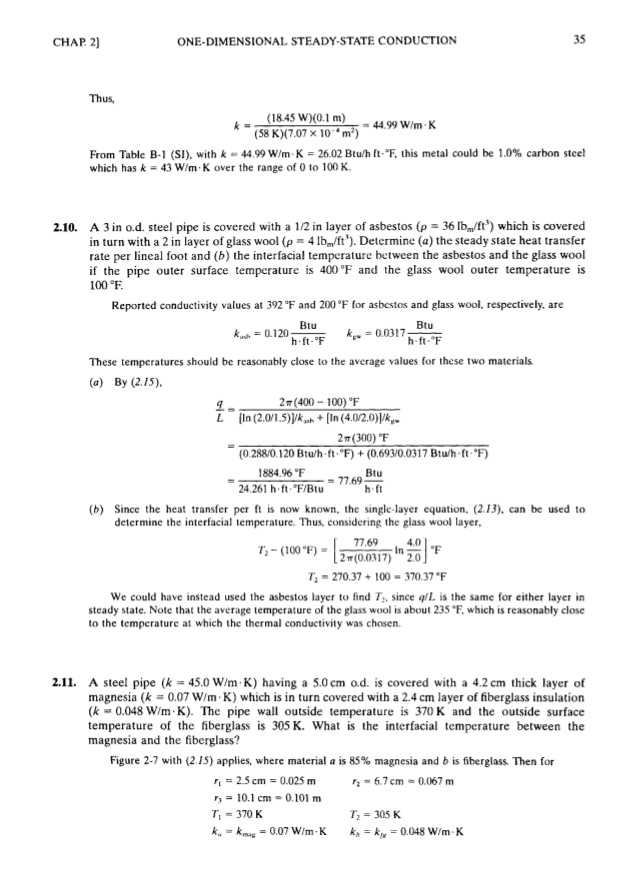 Methods Of Heat Transfer Worksheet Answers with theory and Problem Heat Transfer