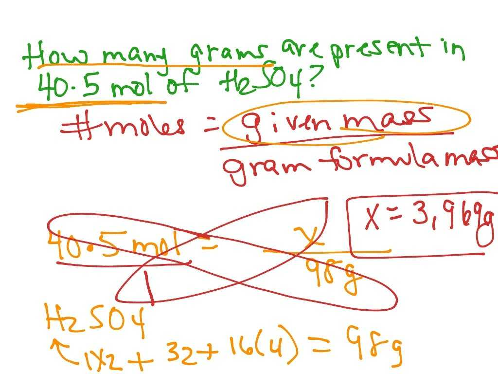 Mole Mass Problems Worksheet Answers And Plex Numbers