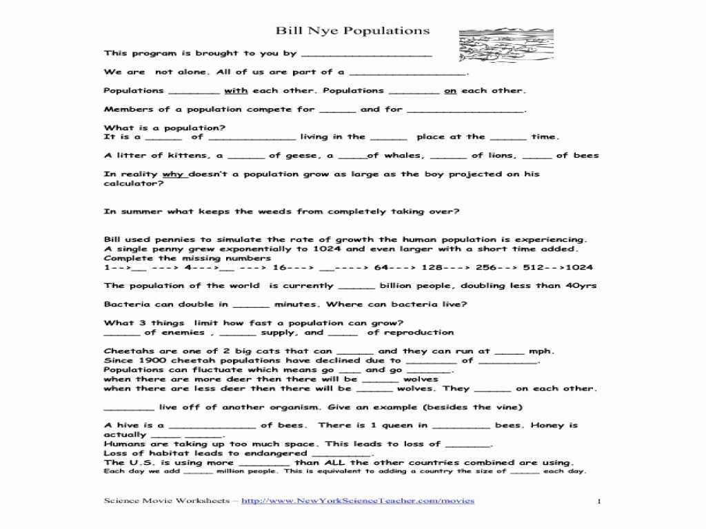 Nc Separation Agreement Worksheet with Bill Nye Cells Worksheet Cadrecorner