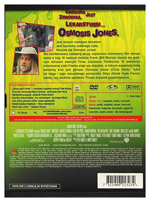 Osmosis Jones Movie Worksheet together with Osmosis Jones [dvd] [region 2] Amazon Chris Rock Laurence