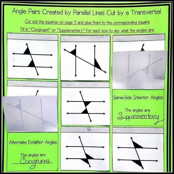 Parallel Lines Cut by A Transversal Worksheet Answer Key with Worksheet Parallel Lines and Transversals Geometry Answers New