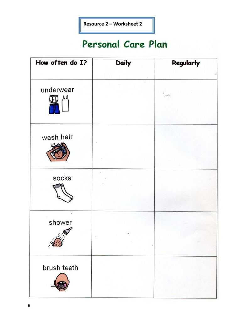Personal Hygiene Worksheets Middle School and 9 Best Board Games Images On Pinterest